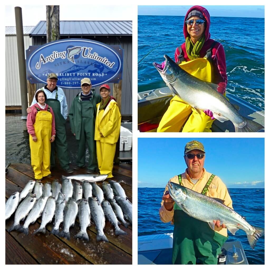 Sitka fishing report 9 5 holten kratz parties angling for Sitka fishing report